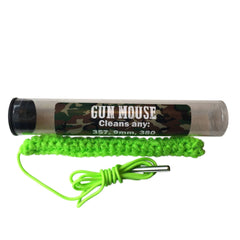Firearm Bore Cleaner - 9 MM /.357 Caliber -Compact, Very Effective Cleaning with a Lifetime Warranty - Gun Mouse Bore Cleaner