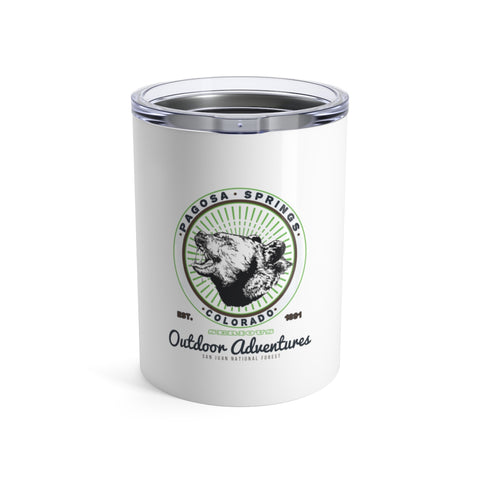 Bear Breath Stainless Tumbler 10oz