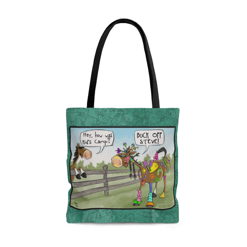 Horse Camp Tote Bag
