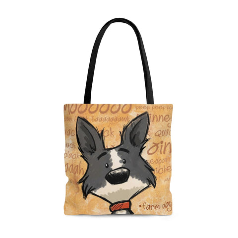 Farm Collie Tote Bag