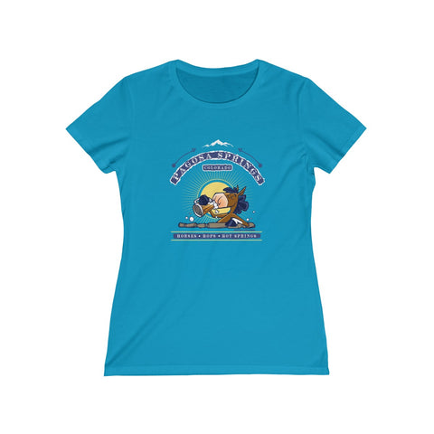 Horses, Hops, & Hot Springs - Ladies Tee