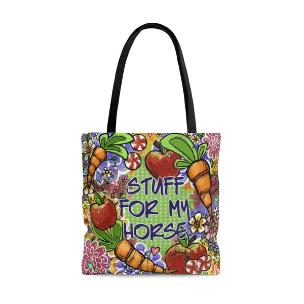 Horse Stuff Tote Bag