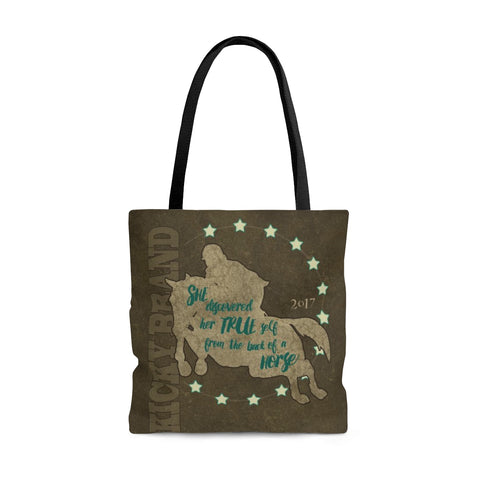 """Her True Self"" Jumper Tote Bag"