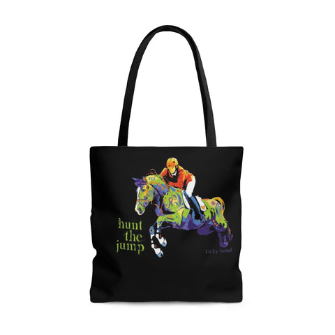 Hunt the Jump Tote Bag
