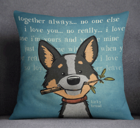 Blue Heeler Pillow