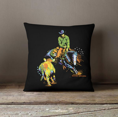 Cow Daze Throw Pillow