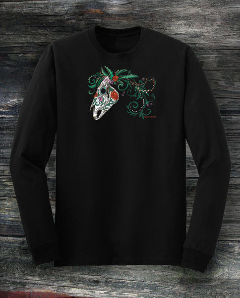 Sugar Horse Long Sleeve Tee - Unisex