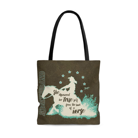 """Her True Self"" Reiner Tote Bag"