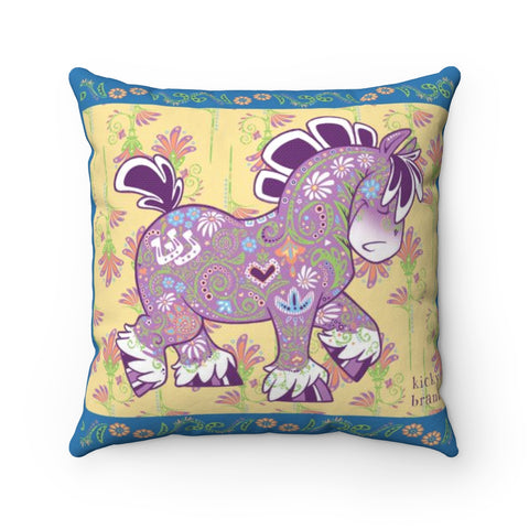 Equifauna Draftie Throw Pillow
