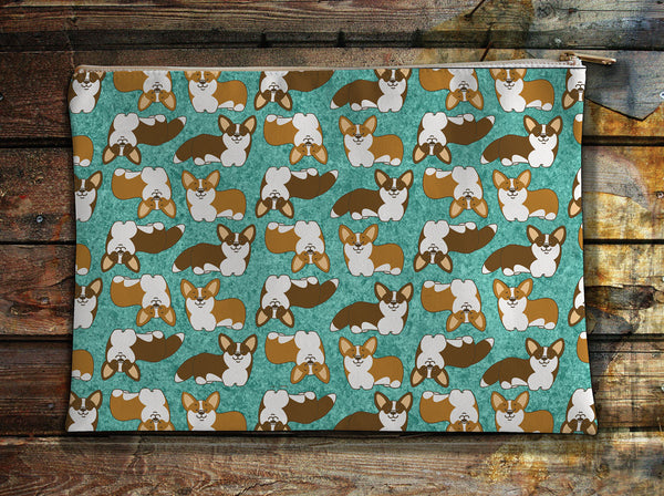 Corgi Crazy Accessory Pouch