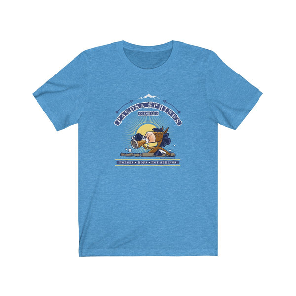 Horses, Hops, & Hot Springs Tee