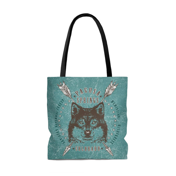 Pagosa Springs Wolf Tote Bag