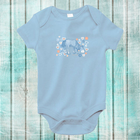 Milk Mornings Baby Onesie