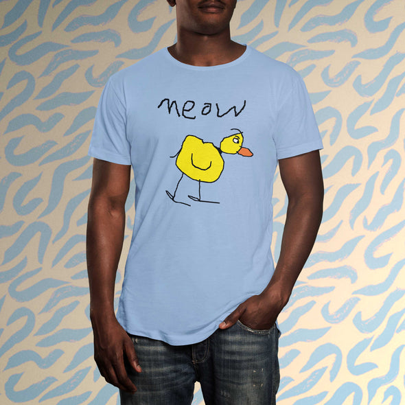 meow the duck Unisex Tee