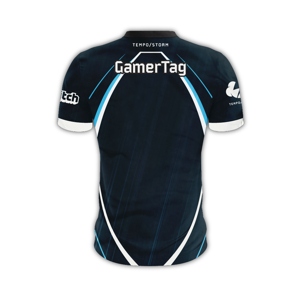 Tempo Storm Dark Jersey (Fortnite)