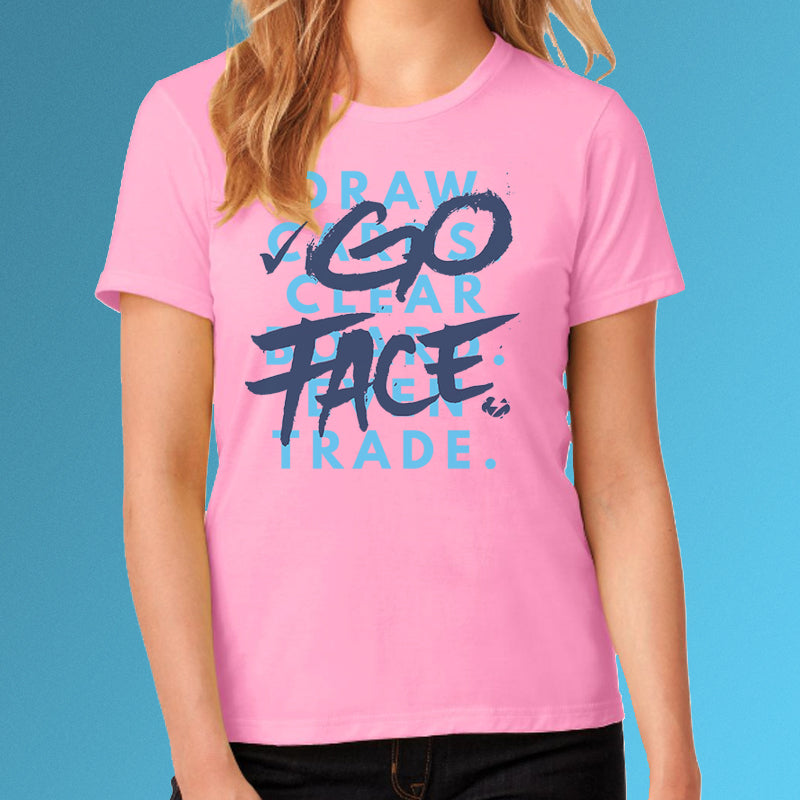 Women's Go Face Tee