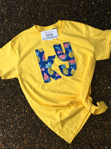 Tropical KY Short Sleeve T - The Monogram Shoppe KY