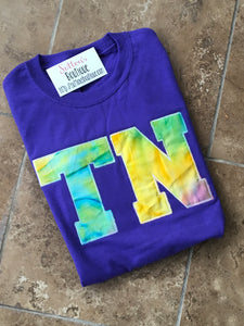 Tie Dye Tennessee Short Sleeve T - The Monogram Shoppe KY