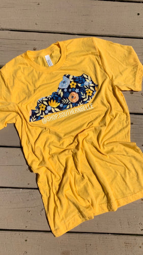 RTS Yellow Floral Soft T
