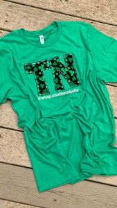 Clover TN Short Sleeve T - The Monogram Shoppe KY