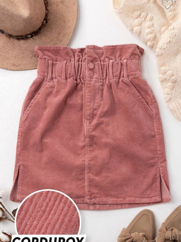 Rose High Waist Skirt