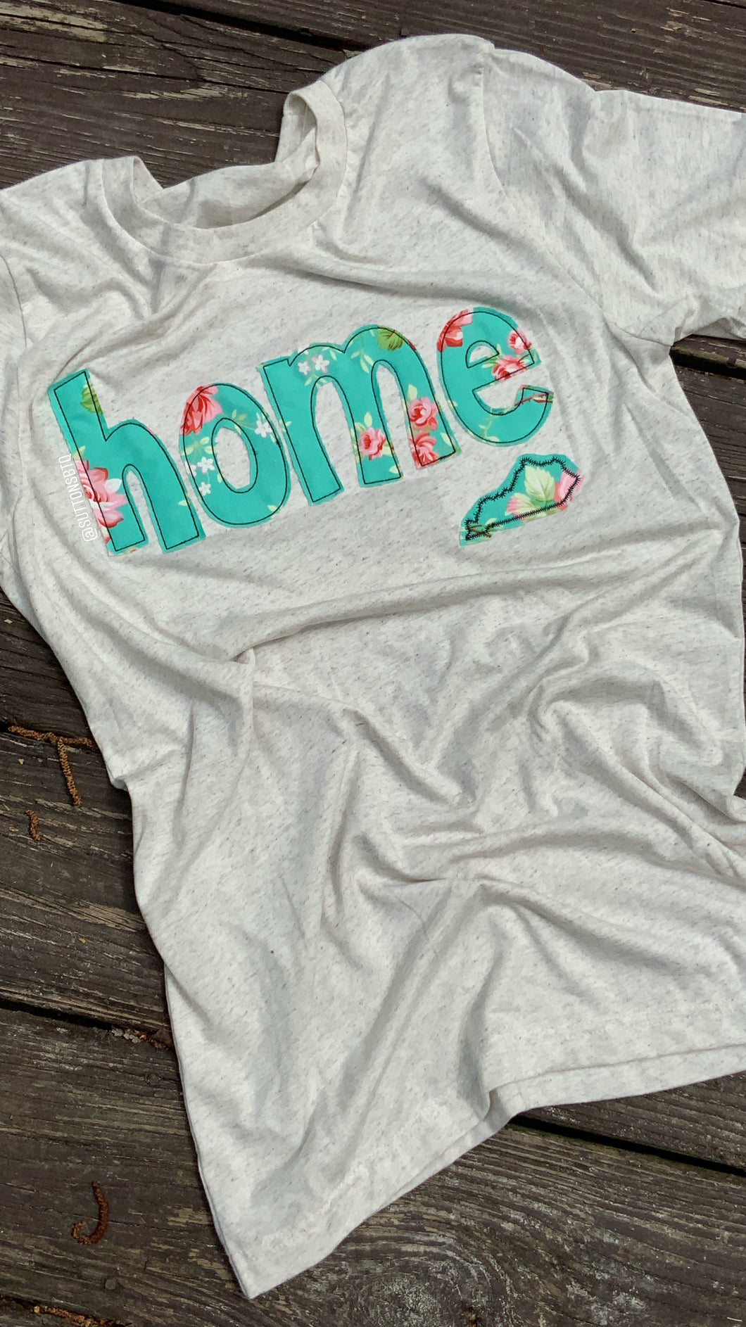 Kentucky Home Triblend Soft T - The Monogram Shoppe KY