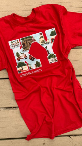 Vintage Christmas Short Sleeve KY
