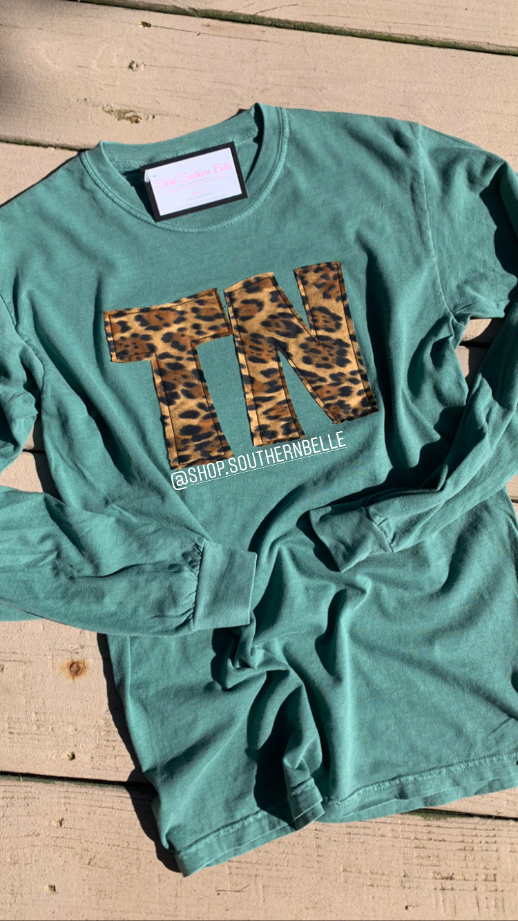 TN Comfort Color Long Sleeve  T - The Monogram Shoppe KY