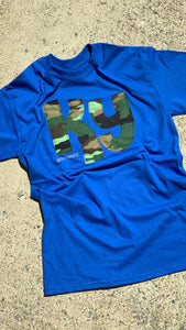 Camo KY Short Sleeve T - The Monogram Shoppe KY