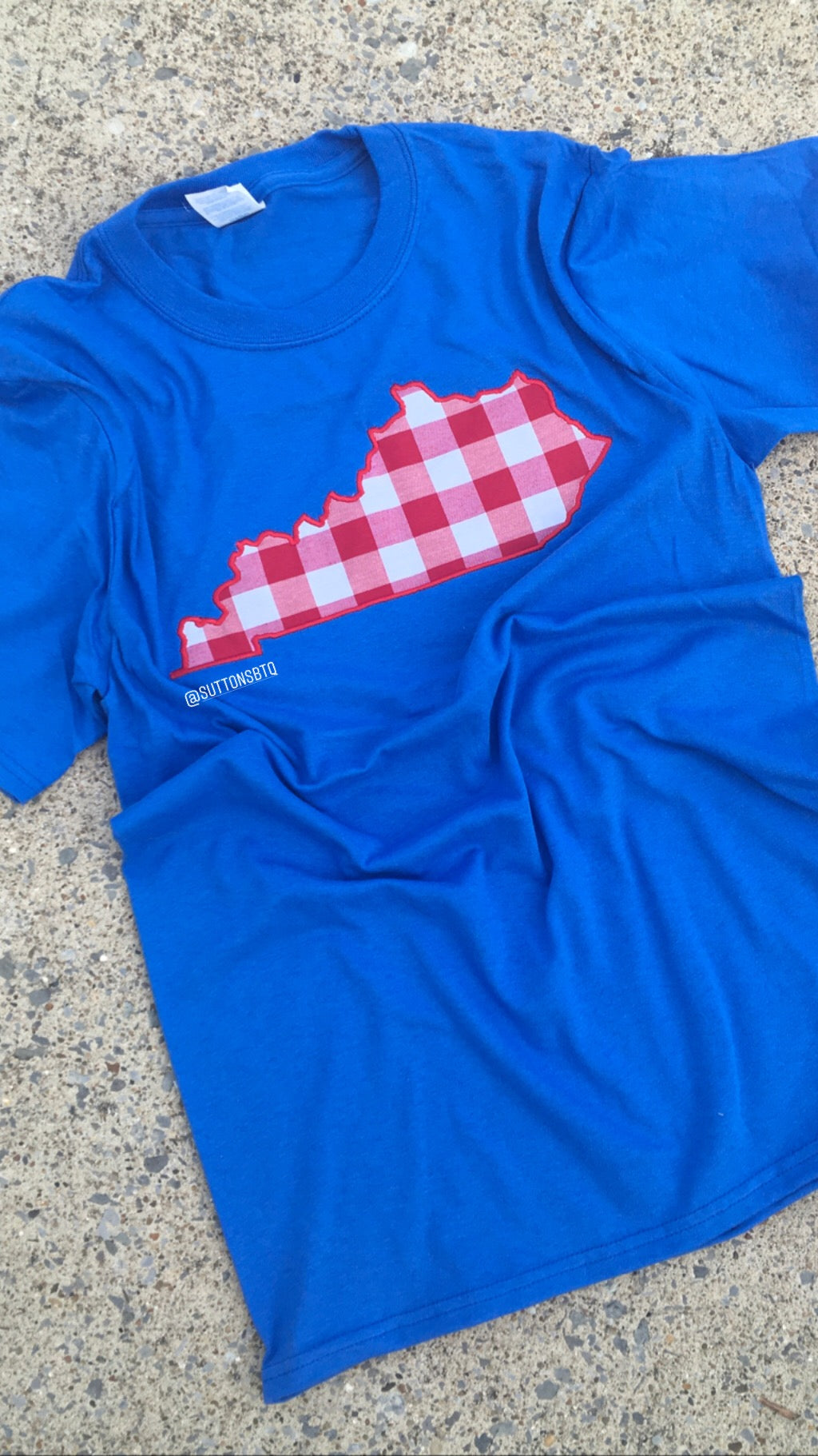 Red Buffalo KY Short Sleeve T - The Monogram Shoppe KY