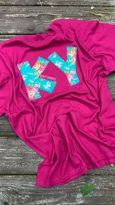 Berry Floral KY Short Sleeve T - The Monogram Shoppe KY