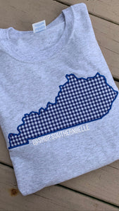Plaid Long Sleeve KY - The Monogram Shoppe KY
