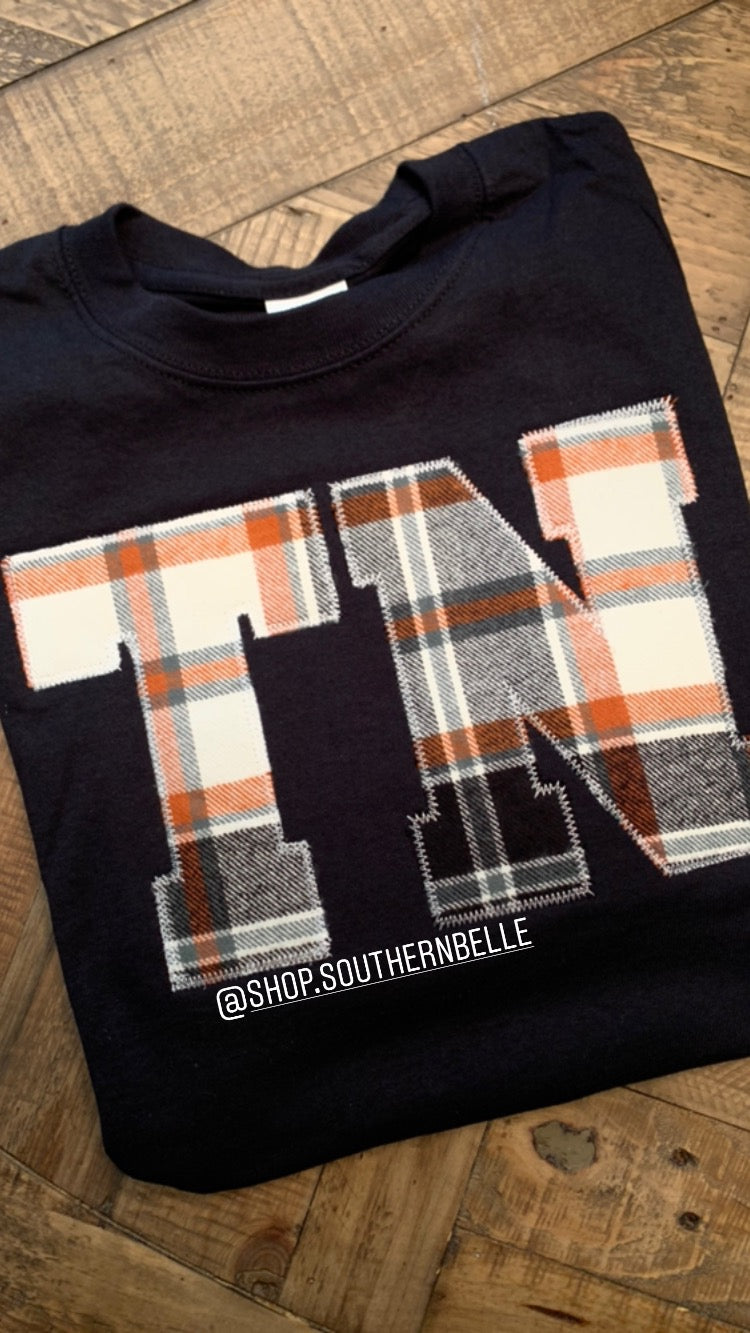 Plaid TN Sweatshirt - The Monogram Shoppe KY