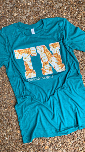 TN Pumpkin Teal Soft T