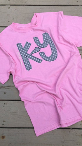 Grey Dot KY Short Sleeve T - The Monogram Shoppe KY