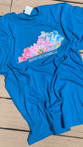 LIMITED EDITION Turquoise KY Short Sleeve T - The Monogram Shoppe KY