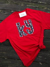Load image into Gallery viewer, Kentucky Valentine Heart Short Sleeve Soft T - The Monogram Shoppe KY