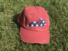 Load image into Gallery viewer, State Patriotic Hat - The Monogram Shoppe KY