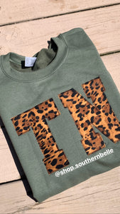 Leopard TN Short Sleeve T - The Monogram Shoppe KY