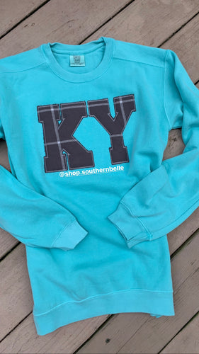 Chalky Mint KY CC Long Sleeve  T
