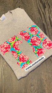 Floral Tennessee Short Sleeve T - The Monogram Shoppe KY