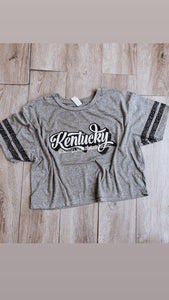 Retro Ladies Crop Top