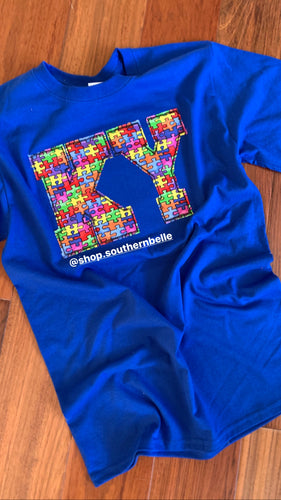 Autism KY Short Sleeve - The Monogram Shoppe KY