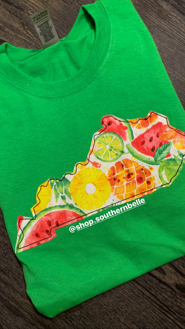 Tropical Fruit KY Short Sleeve