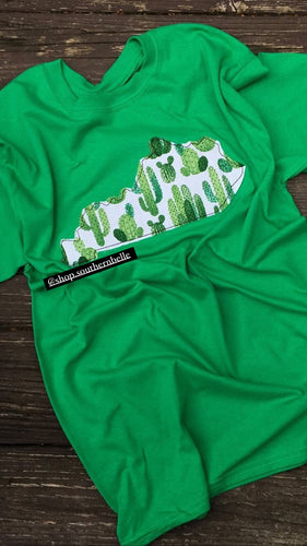 SALE Cactus Short Sleeve T -- ANY STATE
