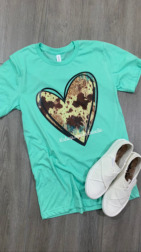 Cow Heart Short Sleeve
