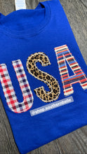 Load image into Gallery viewer, Patriotic Short Sleeve - The Monogram Shoppe KY