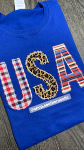 Patriotic Short Sleeve - The Monogram Shoppe KY