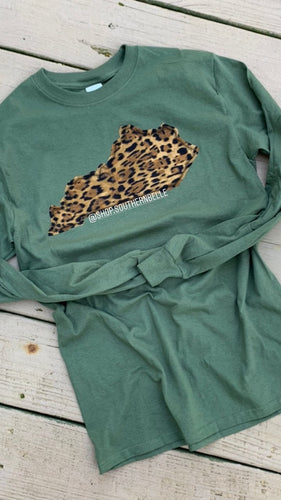 Leopard Long Sleeve -- ANY STATE