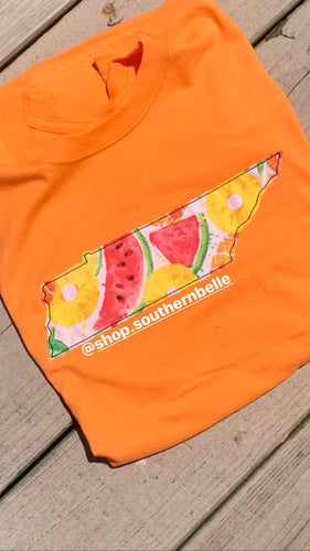 Summer Fruit Tennessee TN Short Sleeve T